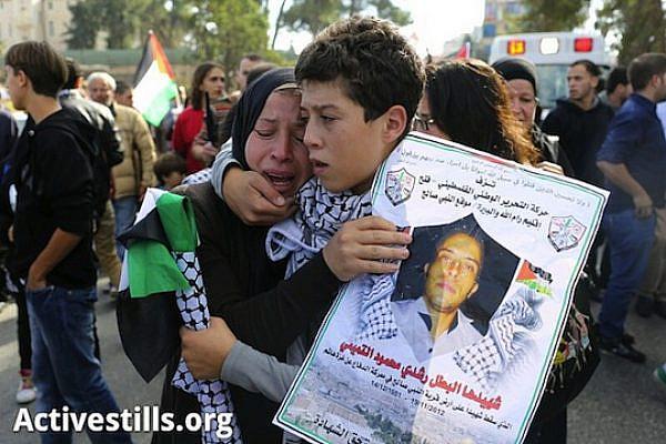 Rushdi Tamimi's funeral Tuesday, Nov 20, 2012 (Activestills0