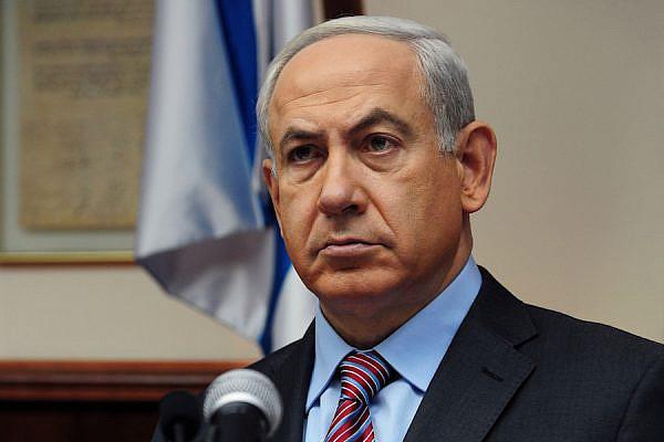 Israeli Prime Minister Netanyahu in the cabinet, Nov. 18, 2012 (Photo: Kobi Gideon / GPO)