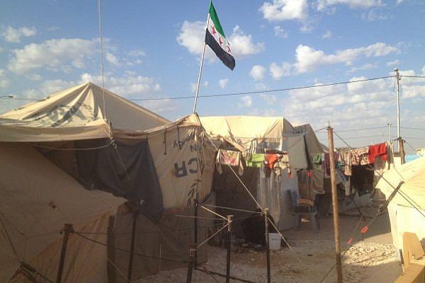 Syrian refugee camp Za'atari, in Northern Jordan (photo: Roee Ruttenberg)