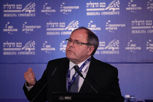 Former settler council leader Dany Dayan at the Herzliya Conference, March 12, 2013 (Photo: Herzliya Conference PR)