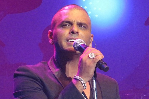 Eyal Golan performing in Cesaria, July 19, 2011 (Eliran Hadad)