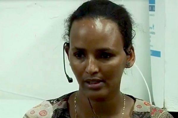 Eritrean refugee Zabib Sultan gives testimony, May 23, 2013 (Social TV)