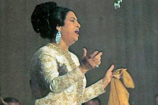 Umm Kulthum. (photo: WIkicommons)