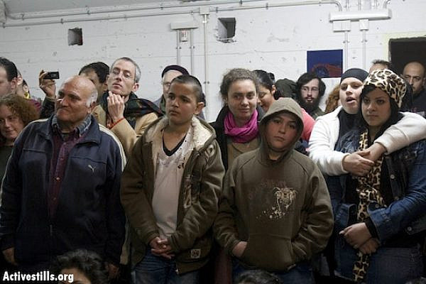 Palestinian citizens of Israel at a youth center in Jaffa (file photo, Activestills.org)