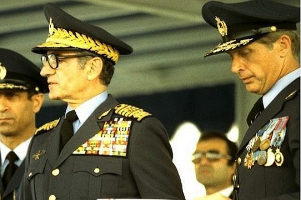 General Nader Jahanbani beside Mohammad Reza Pahlavi and General Mohammad Khatami. (IIAF Personnel Archive)