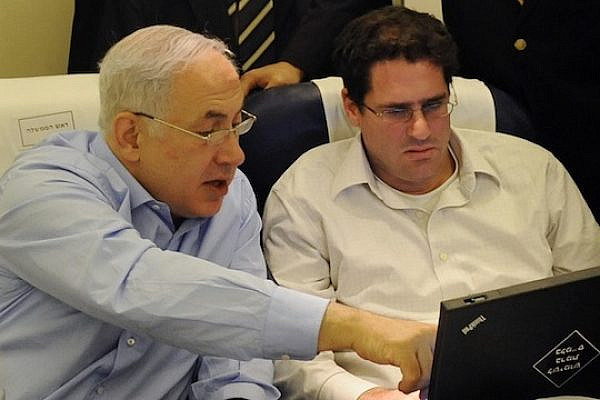 Prime Minister Benjamin Netanyahu and newly-appointed Ambassador to the U.S. Ron Dermer. (photo: PMO/Facebook)