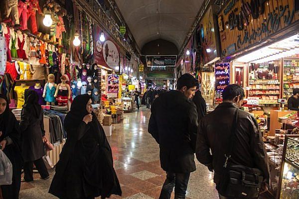 Iranians shopping at Bazaar-e Reza in Mashhad, Iran (Photo: Shutterstock.com)