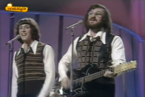 Kaveret perform at the Eurovision competition. (screenshot: YouTube)