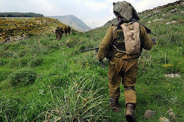 Soldiers from the IDF's Egoz Reconnaissance Unit, which specializes in guerrilla warfare in southern Lebanon. (Illustrative photo: IDF Spokesperson/Flickr)