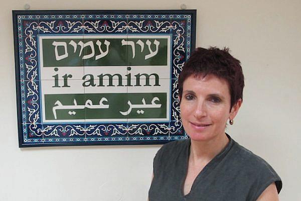 Yudith Oppenheimer, executive director of Israeli NGO Ir Amim (Photo: Matt Surrusco/+972)
