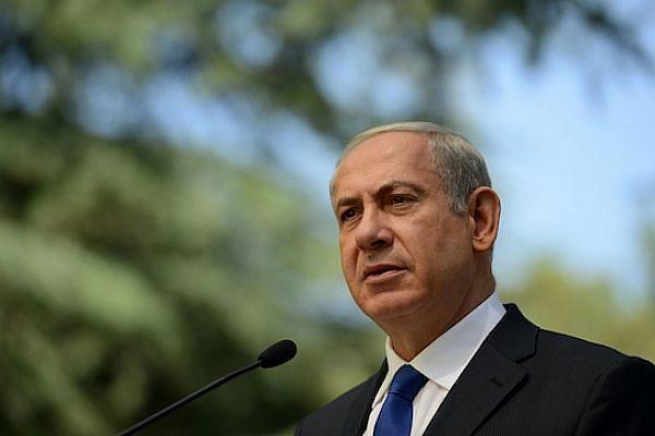 PM Netanyahu at the memorial ceremony marking 40 years since the Yom Kippur War, September 15, 2013. (Photo: Kobi Gideon / GPO)