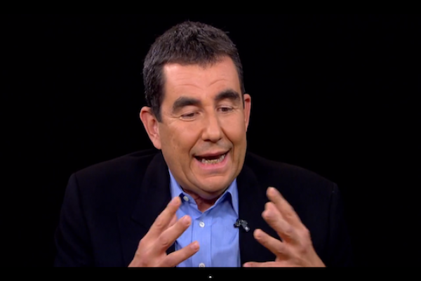 Ari Shavit on the Charlie Rose Show (photo: YouTube screenshot)
