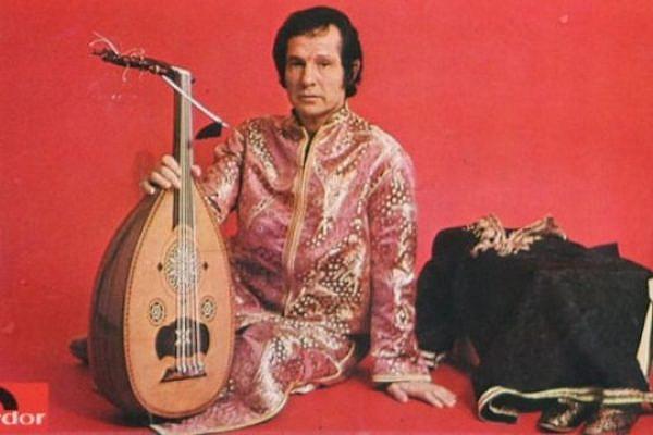 Algerian Jewish singer Salim Halali