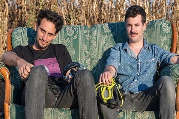 DJs Ophir Toubul and Gal Kadan. (photo: Yair Meyuhas)