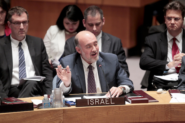 Israeli ambassador to the UN Ron Prosor (UN Photo/Paulo Filgueiras