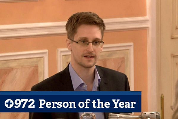 Edward Snowden in Moscow, October 9, 2013. (Screenshot: WikiLeaks)