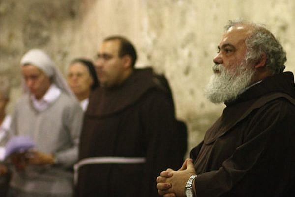 Jerusalem clergymen. (photo: Yossi Gurvitz)
