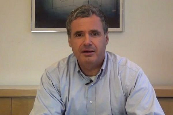 ZOA presidential hopeful Steve Goldberg (Screenshot)
