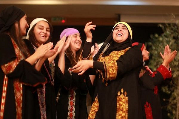 Gazan women celebrate International Women's Day.  (photo: Hosam Salem)