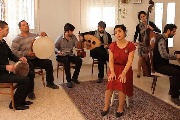 Neta Elkayam and her band.