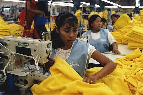 Sweatshop. (illustrative photo: marissaorton/CC BY-SA 2.0)