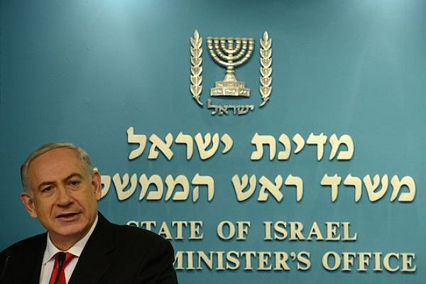 Prime Minister Benjamin Netanyahu during a press conference, July 3, 2013. (photo: Kobi Gideon / GPO)