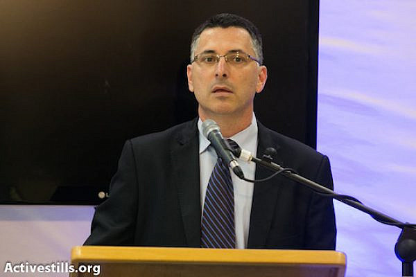 File photo of Interior Minister Gideon Sa'ar (Photo: Activestills.org)