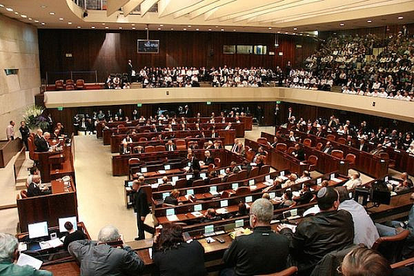 The Knesset floor. (Photo: Itzik Edri/CC)