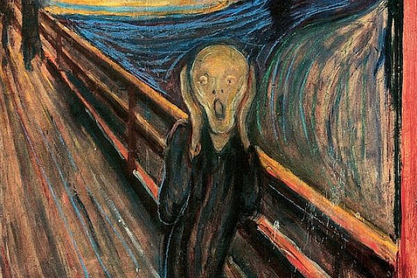 'The Scream', by Edvard Munch