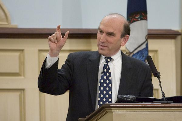 Elliott Abrams (Photo by Miller Center / CC 2.0, cropped)