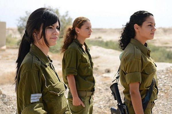 Female IDF soldiers (IDF Spokesperson CC BY NC 2.0)