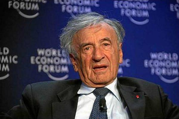 Elie Wiesel (photo: World Economic Forum  / Remy Steinegger)
