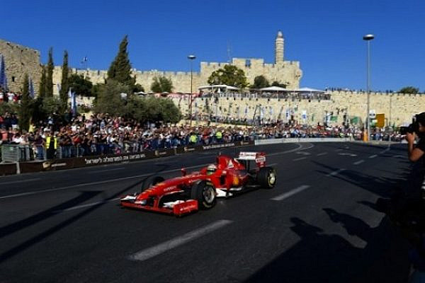 Jerusalem Formula 1 Road Show. (photo: Eugene Kaspersky CC BY-NC-SA 2.0)