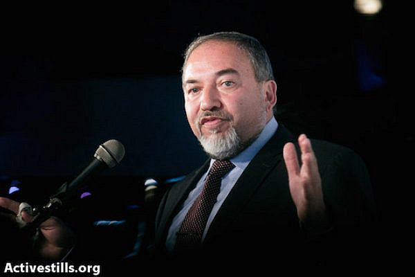 Israeli Foreign Minister Avigdor Liberman (Photo by Yotam Ronen/Activestills.org)
