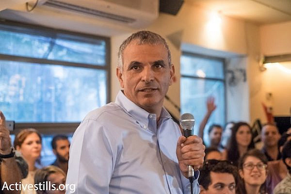 Moshe Kahlon is likely to be a front-runner in the upcoming elections. (Activestills.org)