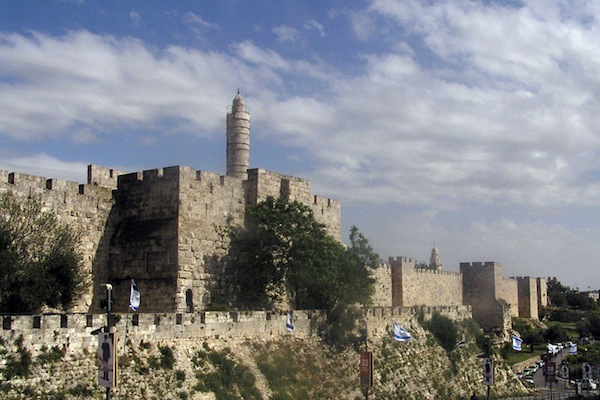 Tower of David, Jerusalem. (photo: Maglanist)