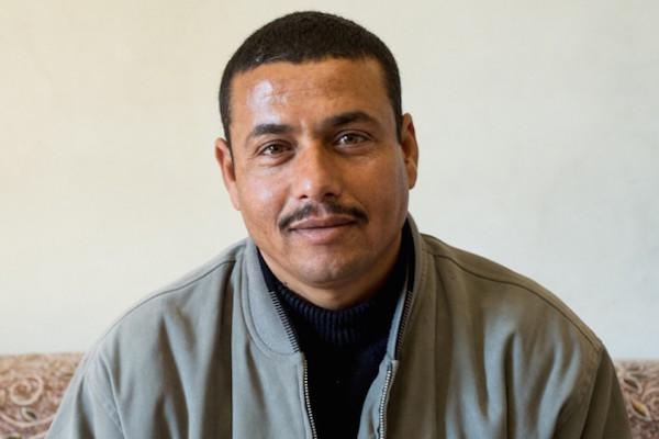 Hatem Abu Ziadeh (Photo courtesy of WAC-MAAN)