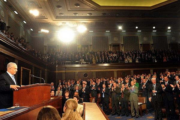 PM Netanyahu's addresses a joint session of the U.S. Congress, May 24, 2011 (Photo: GPO)