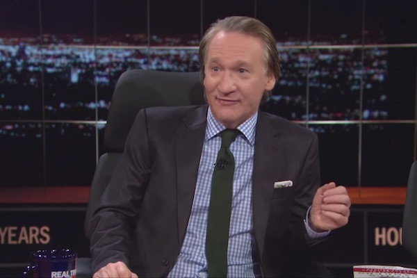 Bill Maher on 'Real Talk' (Screenshot)
