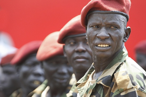 South Sudanese Soldiers. (Steve Evans/CC BY-SA 2.0)