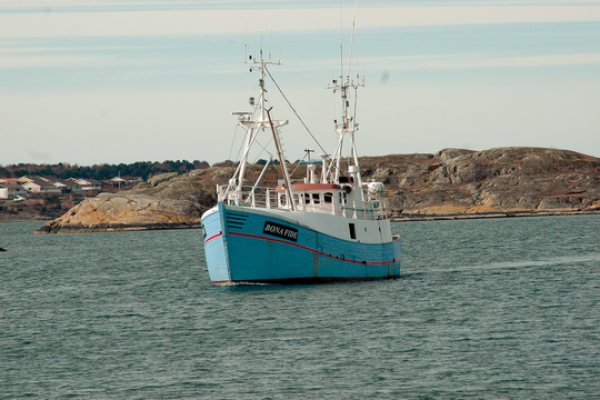 The Marianne, one of the three boats that attempted to sail to Gaza as part of the 'Freedom Flotilla' in June 2015. (photo: Ship to Gaza)
