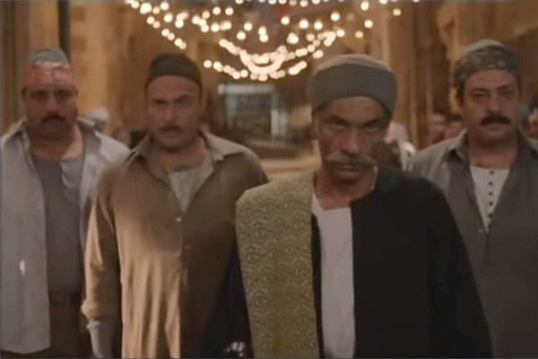 Muslim Brotherhood characters in Haret al-Yahoud/The Jewish Quarter (Screenshot)