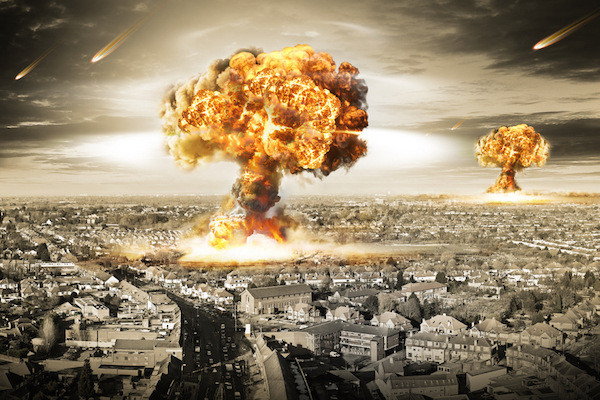 Illustrative photo of nuclear war (Shutterstock.com)
