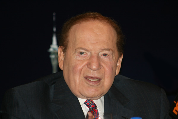 Sheldon Adelson, casino magnate and owner of Las Vegas Review-Journal and Israel Hayom. (Photo by Bectrigger/CC)