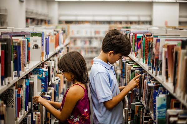 Illustrative photo of children in a library. (photo: Shutterstock.com)