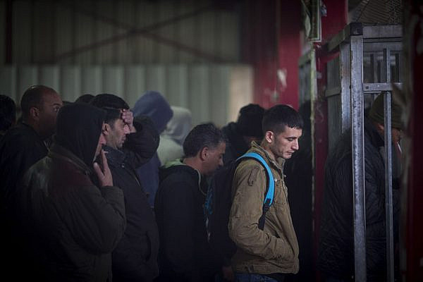 The Palestinians are expected to finance the checkpoints - a system that makes their lives a living hell. (Activestills.org)