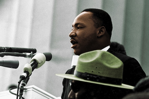 Martin Luther King Jr. delivers his 'I Have a Dream Speech,'  Lincoln Memorial in Washington, D.C.