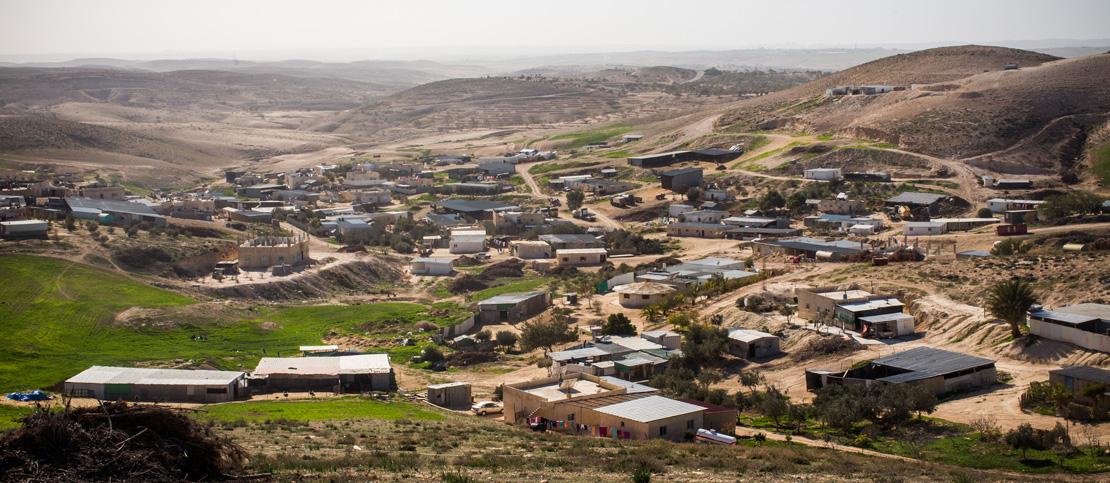 The unrecognized village of Atir (Activestills.org)