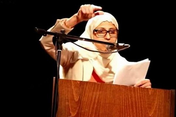 Poet and activist Dareen Tatour spent six months under arrest for incitement. The main piece of evidence against her was a poem she published on Facebook.