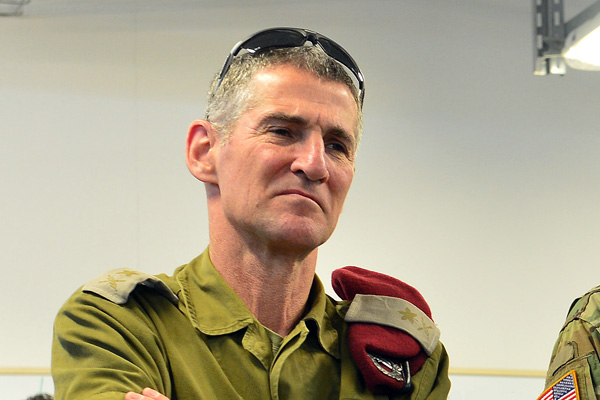 IDF Deputy Chief of General Staff Yair Golan, February 24, 2016, cropped. (Matty Stern/U.S. Embassy Tel Aviv)